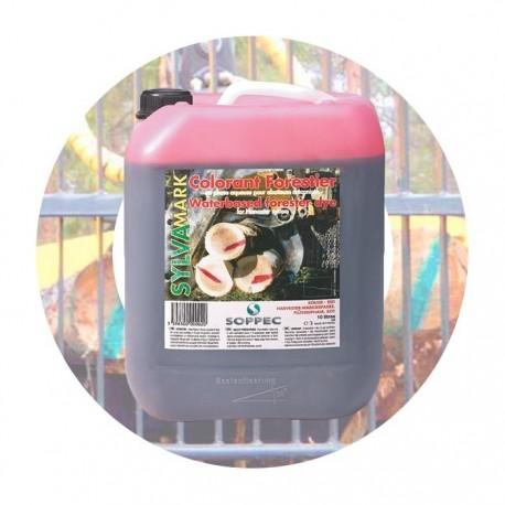 Barwnik na bazie wody do znakowania w leśnictwie