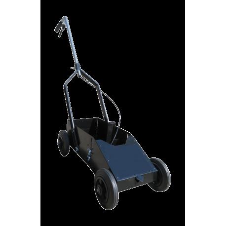 Wózek do wytyczania linii